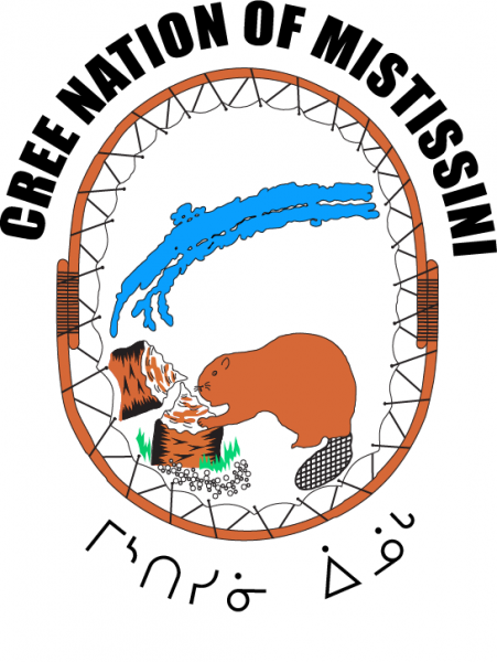 Logo Mistssini with text 2016